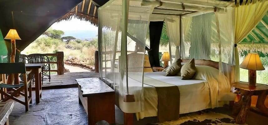 budget tented camp